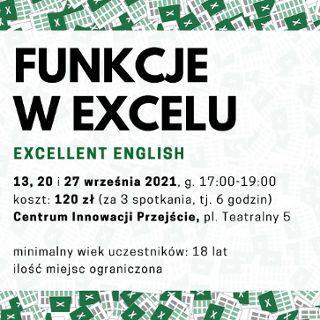 Zdjęcie wydarzenia Funkcje w Excelu – kurs stacjonarny