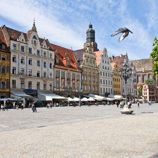 Rynek of Wrocław