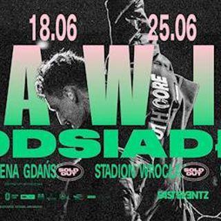 Dawid Podsiadło  na Stadionie Wrocław
