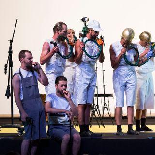 Zdjęcie wydarzenia Spektakl: Bachantki – preludium do oczyszczenia