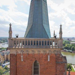 Wieża widokowa katedry pw. św. Jana Chrzciciela