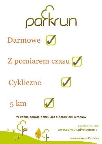 Zdjęcie wydarzenia Parkrun Wrocław – regelmäßige kostenlose Veranstaltung