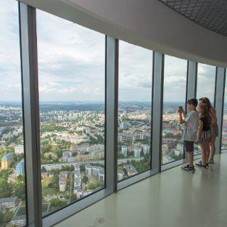 Punkt widokowy Sky Tower Wrocław