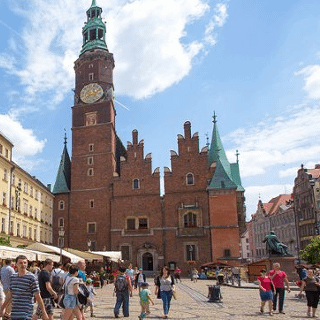 Old Town Hall in Wrocław