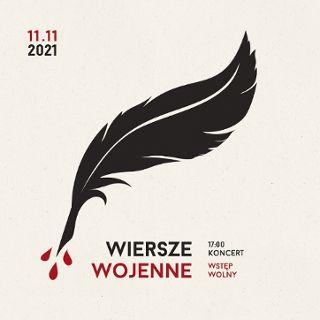 """""""Wiersze wojenne"""" koncert na 11/11 w CK Agora"""