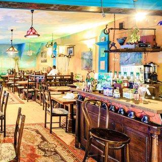 Cafetería de cafés y tés K2