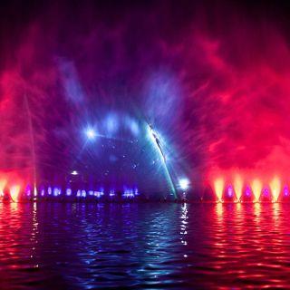 Der Multimediabrunnen von Wrocław