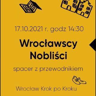 Wrocławscy Nobliści – spacer z przewodnikiem