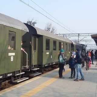 Retro pociągi Liliputy wokół Wrocławia
