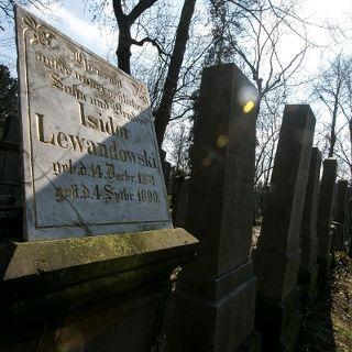 Stary cmentarz żydowski przy Ślężnej – Muzeum Sztuki Cmentarnej