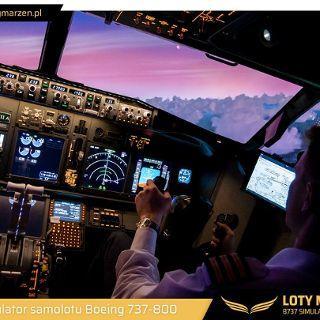 Loty Marzeń – Symulator Boeinga 737-800NG!