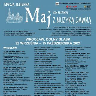 Zdjęcie wydarzenia Międzynarodowy Festiwal Maj z Muzyką Dawną 2021