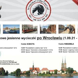 """Zdjęcie wydarzenia """"Parostatkiem w piękny rejs"""" – spacer po Wrocławiu"""