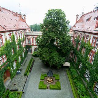 Patio del Instituto Nacional Ossoliński de Wroclaw